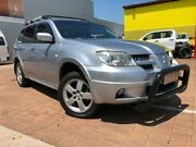 2006 Mitsubishi Outlander ZF MY06 VR Silver 4 Speed Automatic Wagon Stuart Park Darwin City Preview
