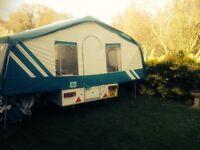 Pennine Portland Trailer Tent.