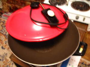 Electric Wok Large size Lid&cable $20