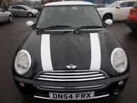 MINI ONE 1.6 HATCHBACK 54 REG,, CLEAN CAR FOR YEAR,, CHEAP TO RUN,, MOT JANUARY 2019