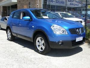 2008 Nissan Dualis J10 TI (4x4) Blue 6 Speed CVT Auto Sequential Wagon Wangara Wanneroo Area Preview