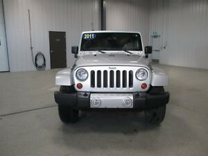 2011 Jeep Wrangler Unlimited Sahara Moose Jaw Regina Area image 2
