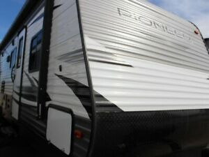 $135 b/w OAC. New Travel Trailer RV, sleeps 10 with Bunk Beds!