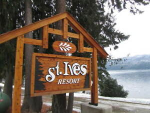SHUSWAP TIME SHARE RESORT -  Best price on one week - $1