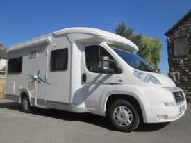 CHAUSSON FLASH 08, LOW PROFILE, FOUR BERTH, REAR FIXED BED