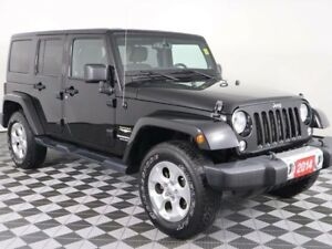 2014 Jeep Wrangler Unlimited w/DUAL TOPS, HEATED SEATS, TOW PKG,