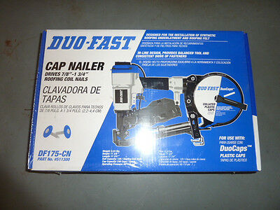 NEW DUOFAST CAP NAILER DF175-CN roofing duo fast 511300 Coil Nail air gun