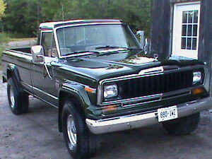 Jeep J10 Pickup Truck- seeking owner