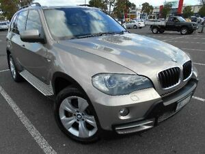 2007 BMW X5 E70 3.0D Gold 6 Speed Steptronic Wagon Maidstone Maribyrnong Area Preview