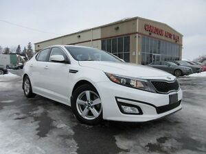 2015 Kia Optima LX, AUTO, A/C, BT, ALLOYS, HTD. SEATS, 55K!