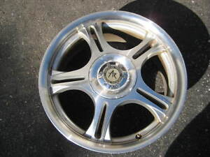 17 INCH, 4X100 - 4X114.3 MULTIFIT ALLOY RIMS FOR SALE