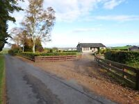 Piperhill, Nairn, 1980's, 3 bed bungalow in beautiful rural location.
