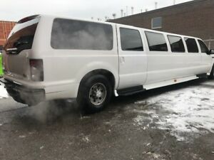 FORD EXCURSION SUV STRETCH LIMO FOR SALE