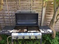 Barbeque Gas Cooker 2nd hand but in good condition + gas bottle connector ( bottle not included )