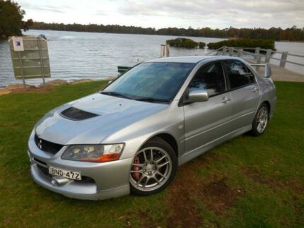 2005 Mitsubishi Lancer CY MY06 Evolution IX Silver 6 Speed Manual Sedan Lansvale Liverpool Area Preview