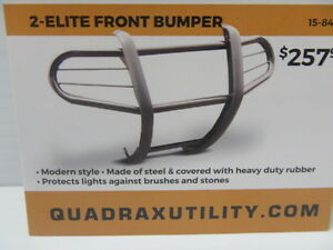 Elite Bumpers available at Cooper's, protect your machine.