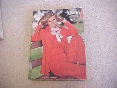 1977 MONTGOMERY WARD LARGE SPRING AND SUMMER  CATALOG