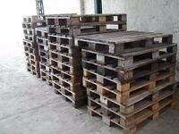 50 NO ONLY SELLING AS COMPLETE LOT USED WOODED PALLETS ALL EXCELLENT QUALITY