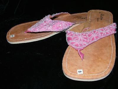 Flip Flops Shoes Sandals Woman 36 Ethnic 4