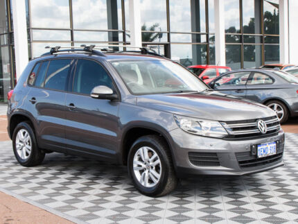 2014 Volkswagen Tiguan 5N MY14 118TSI DSG 2WD Grey 6 Speed Sports Automatic Dual Clutch Wagon Alfred Cove Melville Area Preview