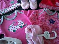 Newborn Baby Girl Bundle. New Without Tags.