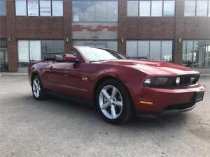 2011 FORD MUSTANG GT 5.0 CONVERTIBLE!!82.60 WEEKLY,$0 DOWN!!