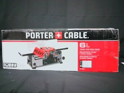 Porter Cable PC160JT Variable Speed 6-Inch Benchtop Jointer - Used
