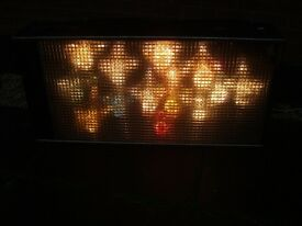 DISCO LIGHTS RETRO VINTAGE DISCO SCREEN , NICE GROOVY EFFECT ,70s/80s effect