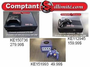Chez Comptantillimite.com, nous avons la console de jeux de vos loisirs 819-822-7777