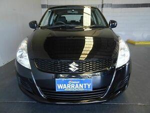 2013 Suzuki Swift FZ MY13 GA Black 5 Speed Manual Hatchback Woodridge Logan Area Preview