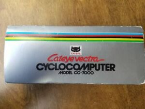 Brand new! Vintage CatEye VECTRA Cyclocomputer Cc-7000