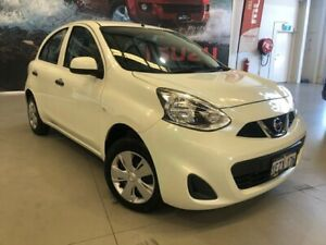 2016 Nissan Micra K13 MY15 ST White 4 Speed Automatic Hatchback Rockingham Rockingham Area Preview