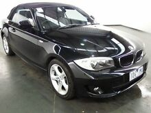 2015 BMW 120I E88 MY13 Update High Line Black Sapphire 6 Speed Automatic Convertible Albion Brimbank Area Preview