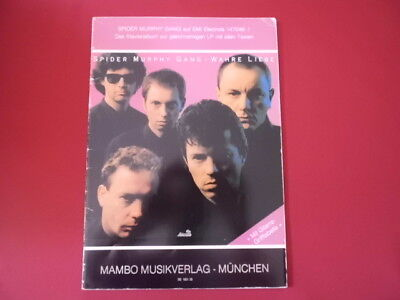 Spider Murphy Gang - Wahre Liebe . Songbook Notenbuch Piano Vocal Guitar PVG