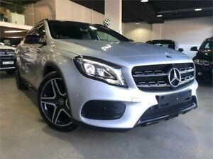 2017 Mercedes-Benz GLA 250 4MATIC X156 807MY Silver Sports Automatic Dual Clutch Wagon Caringbah Sutherland Area Preview