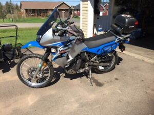 2008 KLR 650 - Loaded with all the extras