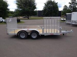 """New 2016 High Country 80"""" x 14' Aluminum Landscape Trailer"""