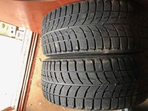 2 PNEUS TIRES BRIDGESTONE BLIZZAK 225 40 18 *FORD*BMW*HIVERS