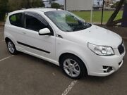 2010 Holden Barina TK MY10 White 5 Speed Manual Hatchback Holroyd Parramatta Area Preview