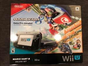 Nintendo Wii U 32GB Deluxe Set with Mario Kart 8 plus much more
