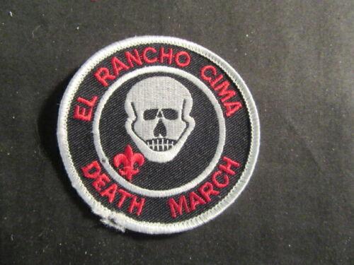 El Rancho Cima Death March Pocket Patch     c73