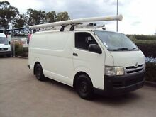 2010 Toyota Hiace KDH201R MY10 LWB White 5 Speed Manual Van Acacia Ridge Brisbane South West Preview