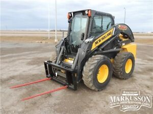2016 HLA Double Prong Bale Spear for Skid Steer Loaders