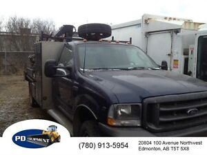 2003 Ford F450 2wd Picker Truck