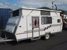 1994 Coromal Seka 475 15' Poptop Caravan Bungalow Cairns City Preview