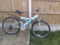 2 adult MOUNTAIN BIKES BARGAIN PRICE £100!colection only no delivery!
