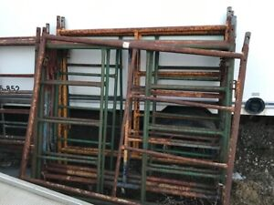 Scaffolding sections  5' by 5'