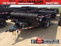 "2019 PJ 12' x 78"" Medium Duty Dump Trailer, 9.9K GVWR Winnipeg Manitoba Preview"