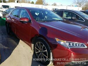 2015 Acura TLX AWD V6 Tech only 38,220 km RED
