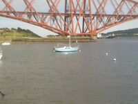 Sail Boat Hurley 22 Fin Keel includes Road/Recovery/Launch Trailer